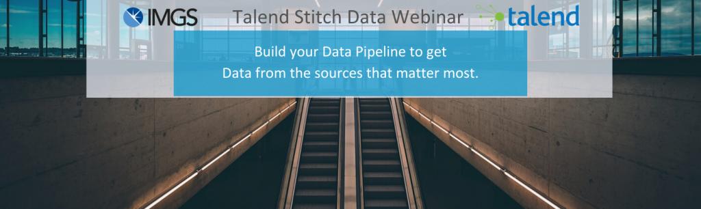 Talend Stitch Data Webinar